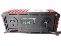 1000W Pure Sine Wave Inverter / Charger - 12V DC to 240V AC - Pure