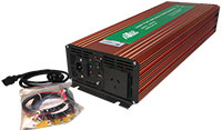 2500 Watt Pure Sine Wave Power Inverter (5000W Surge)