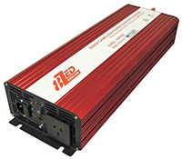 2500 Watt Pure Sine Wave Power Inverter/Charger (5000W Surge) 12V 8ZED
