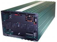 5000 Watt Pure Sine Wave Power Inverter (10000W Surge) 12v back view