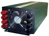 5000 Watt Pure Sine Wave Power Inverter (10000W Surge) 12v front view